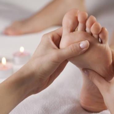 Massage des pieds … un pur moment de bien être!