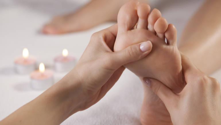 Massage des pieds … un pur moment de bien être !